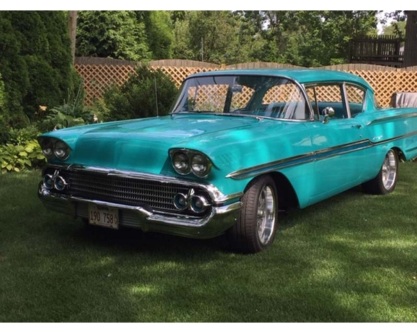 1958 Chevy Biscayne 2 Door Sedan