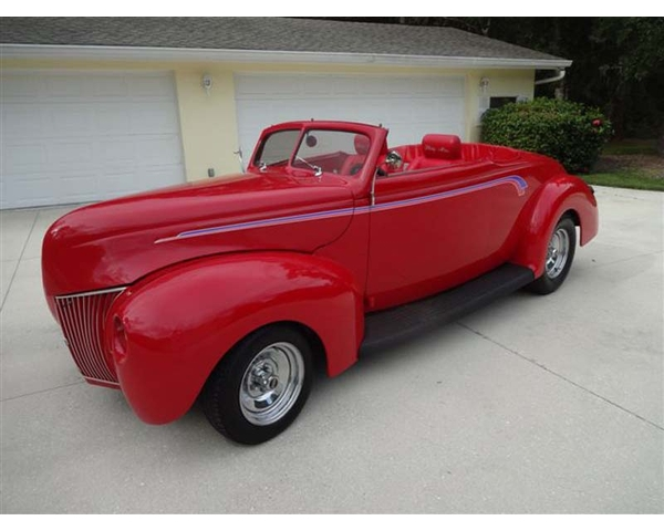 1939 Ford Pro-Built Deluxe Roadster