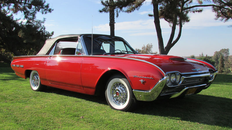 1962 Ford T-Bird Sport Roadster