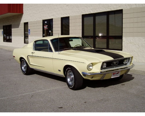1968 Mustang GT Fastback