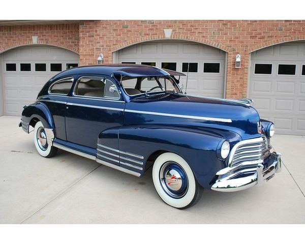 1946 Chevy Fleetline Aero Coupe Sedan