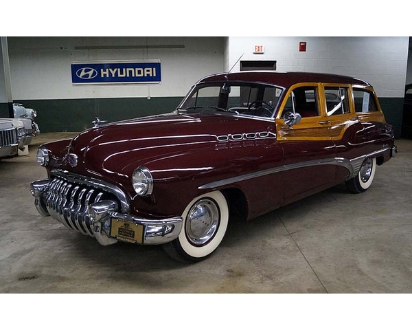 1950 Buick Roadmaster Rivera Estate Wagon