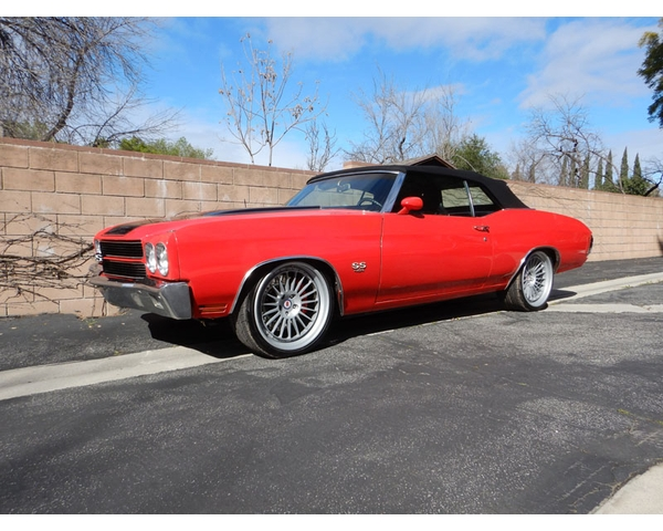 1970 Chevelle SS Pro Touring Convertible