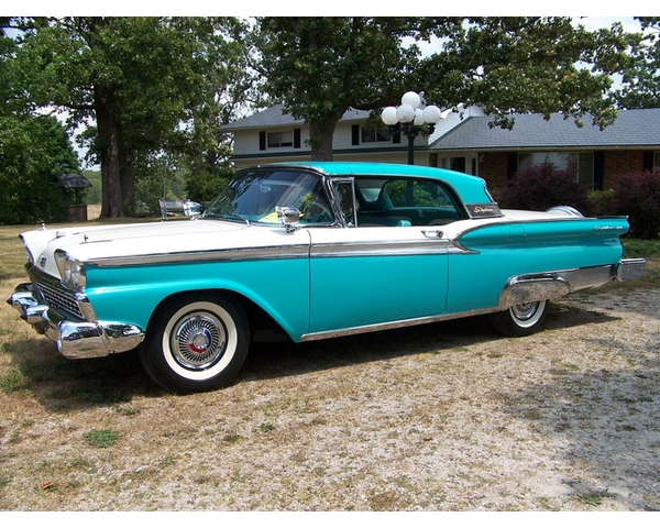 1959 Ford Skyliner Retractable Convertible