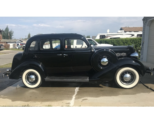1935 Plymouth PJ 4 Door Sedan