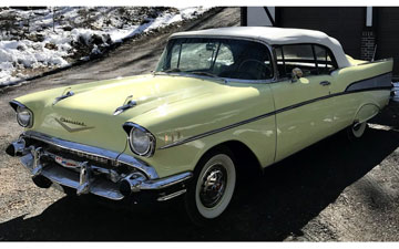 Here Is A 1957 Chevrolet Bel Air Convertibe, Often Referred To As Americau0027s  Car, A Classic 1950u0027s ...