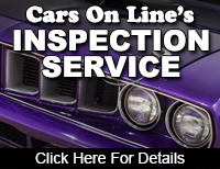 Cars On Line Inspection Service