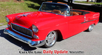 1955 Chevy Bel Air Custom Convertible