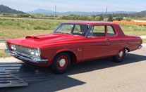 1963 Plymouth Savoy Max Wedge