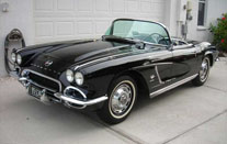 1962 Black Fuelie Corvette