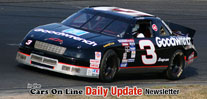 Earnhardt and Stewart Road Course Cars