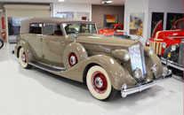 Classic Packard Twelve Convertible