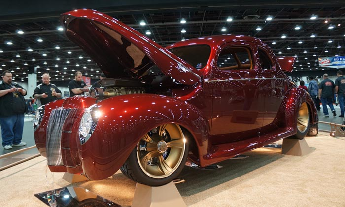 1940 Ford Wins Ridler Award at 2013 Detroit Autorama Car Show