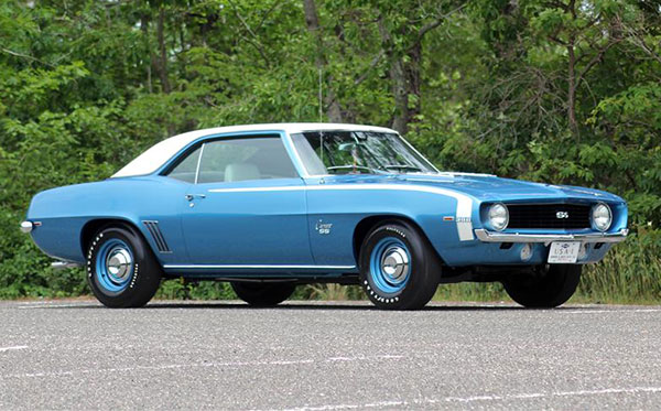 cars camaro 1969 barrett ss jackson line 1958 nights august l89 cameo pickup carrier buyer commission sold