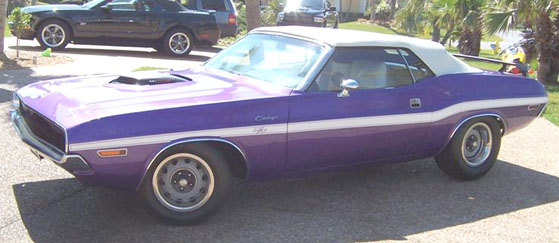 1970 Dodge Challenger  Convertible