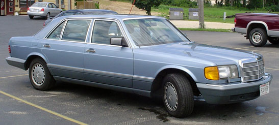 1987 Mercedes 560 SEL   Cars On Line com   Classic Cars For Sale
