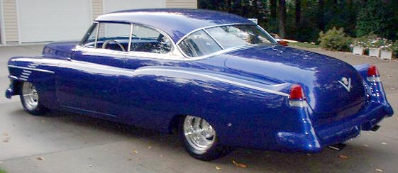 1951 Cadillac  Radical Custom Coupe