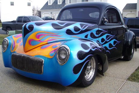 1941 Willys  Pro Street Coupe