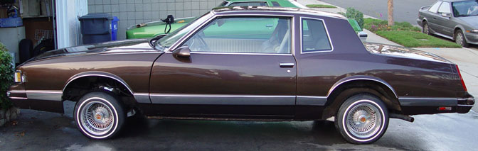 1981 Chevy Monte Carlo LS