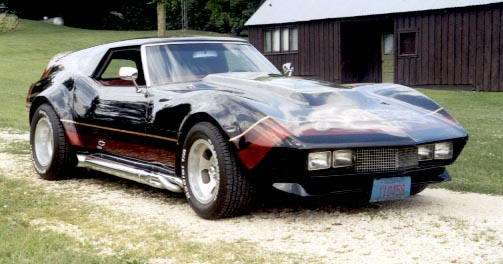 You Can Be the Champ in Sylvester Stallone's Custom 1968 Corvette ...