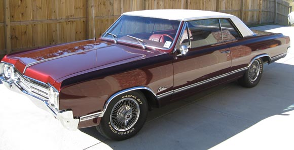 1965 Olds Cutlass Holiday Coupe