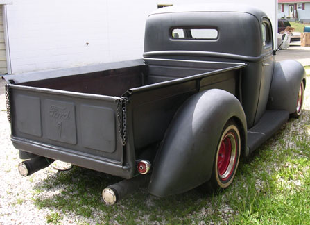 1940 Ford pickup bed dimensions
