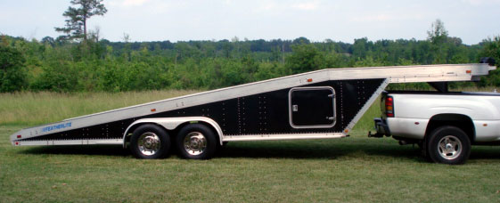 1989 Featherlite  Aluminum Trailer
