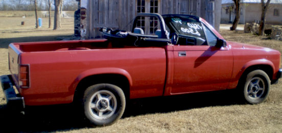Dodge on Dodge Dakota Convertible 1990