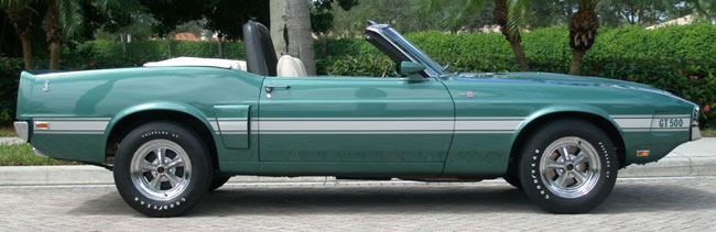1969 Shelby GT-500  Convertible