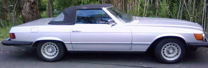 1982 Mercedes  280SL Roadster