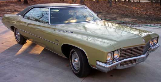 Buick on 1971 Buick Lesabre Parts