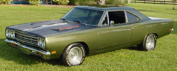1969 Plymouth  Road Runner Hemi Coupe