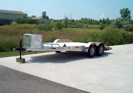 2006 Forest River  Beaver tail car trailer,
