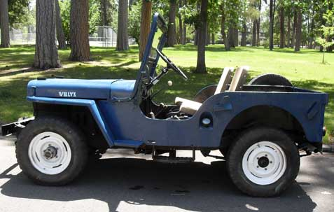 1949 Willys Jeep CJ2A