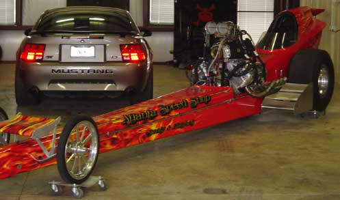 1966 Front Engine AAFD Dragster
