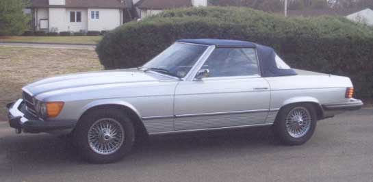 1976 Mercedes  450SL Roadster