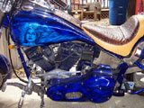 1998 Harley Evolution  Softail Custom