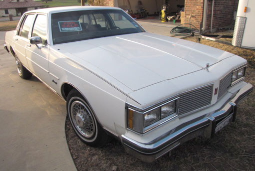 1982 Oldsmobile  Cutlass Royale Brougham