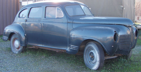 1941 Plymouth Super Deluxe