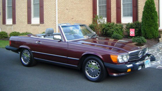 1989 Mercedes 560SL Roadster