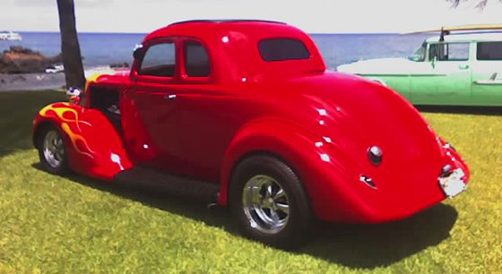 1935 Plymouth Coupe Pj Deluxe