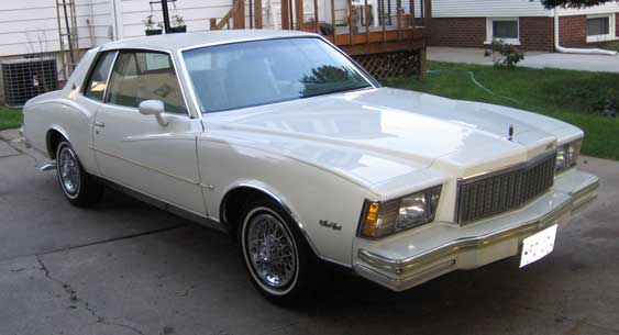 1979 Chevy Monte Carlo 2dr