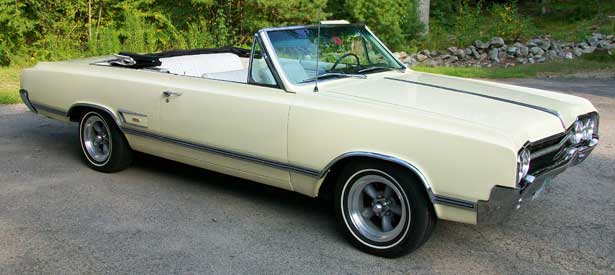65 olds 442 convertible