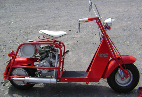 Cushman Scooter For Sale And Classic Cushman Parts