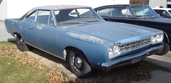 1968 Plymouth Satellite Belvedere