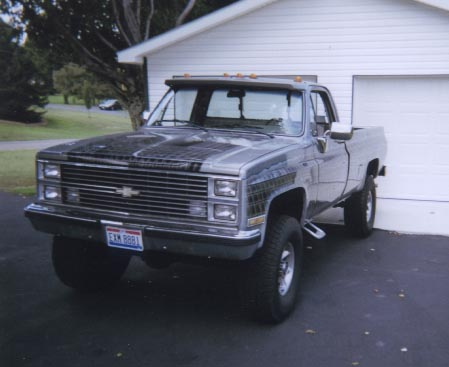 1985 chevy 3 4 ton truck. Black Bedroom Furniture Sets. Home Design Ideas