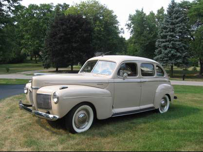 1941 mercury 4 door sedan delux for 1941 ford 4 door
