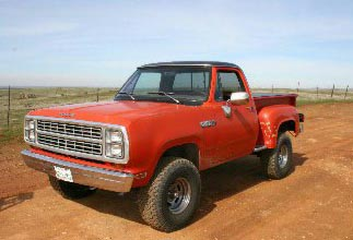 1979 Dodge  W150 Power Wagon