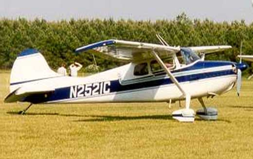 1954 Cessna 170 B Airplane