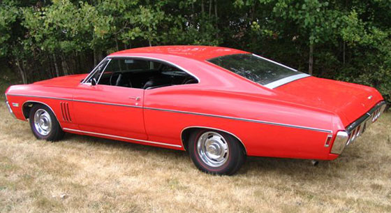 1968 chevy impala fastback submited images